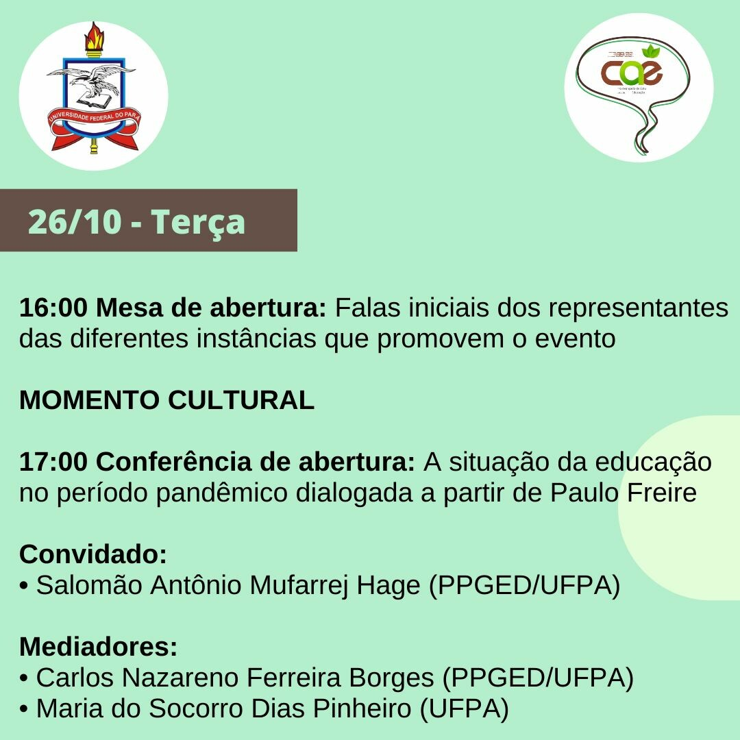 IV Seminário Conversas com CAE - ICEDUFPA 04