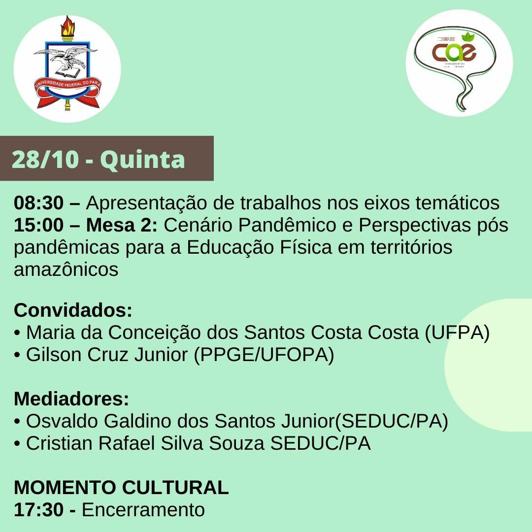 IV Seminário Conversas com CAE - ICEDUFPA 05