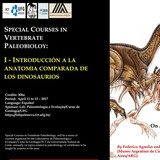 Special course in vertebrate paleobiology