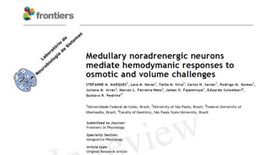 Artigo publicado na Frontiers in Physiology