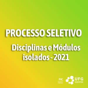 Processo Seletivo - Módulos isolados