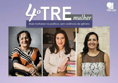 4° Webnário TRE Mais mulheres na política, sem violência de gênero