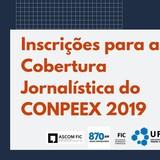 Cobertura Jornalística Conpeex 2019