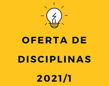 Oferta de disciplinas