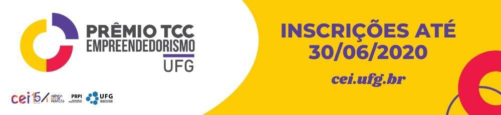 Banner 4ª Edição do  Prêmio TCC em Empreendedorismo