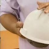 capacete que detecta eletricidade