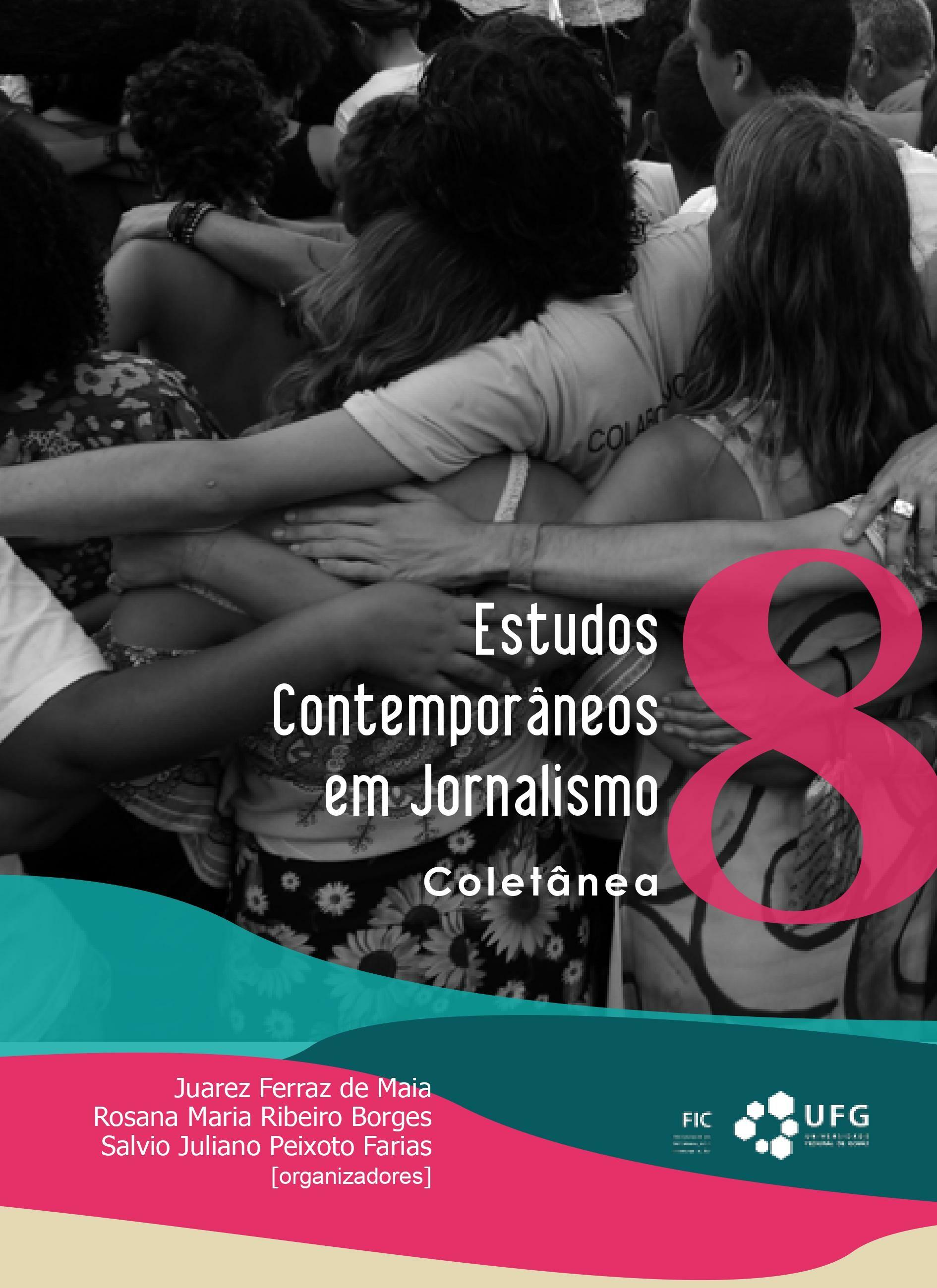 Capa - Livro Estudos Contemporâneos em Jornalismo