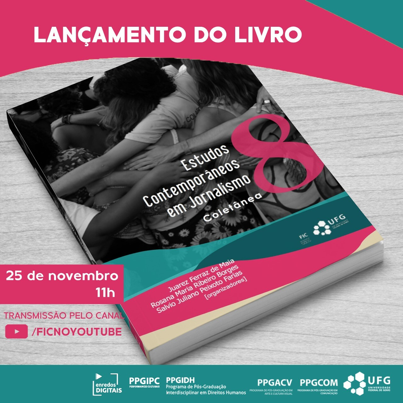Live de lançamento: Estudos Contemporâneos em Jornalismo 8 (feed)
