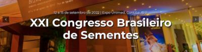 Evento - Congresso Brasileiro de Sementes - Banner - 2022