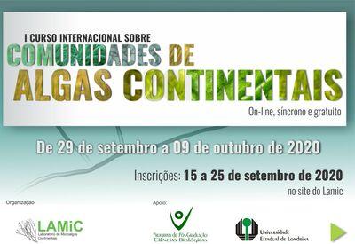 Extensão - Curso Internacional Algas 2020