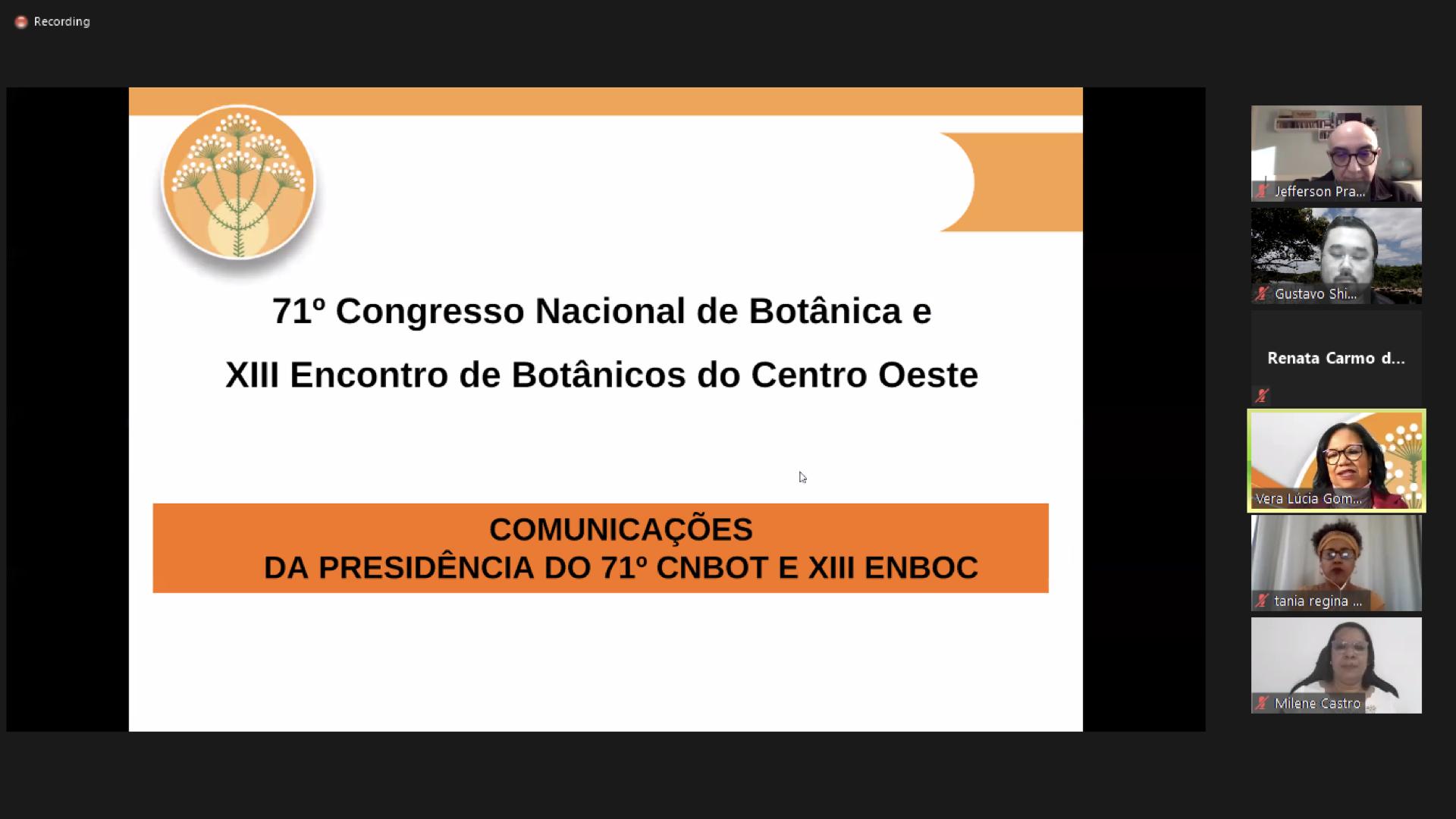 Evento - 71 Congresso Nacional de Botanica - Assembleia 2