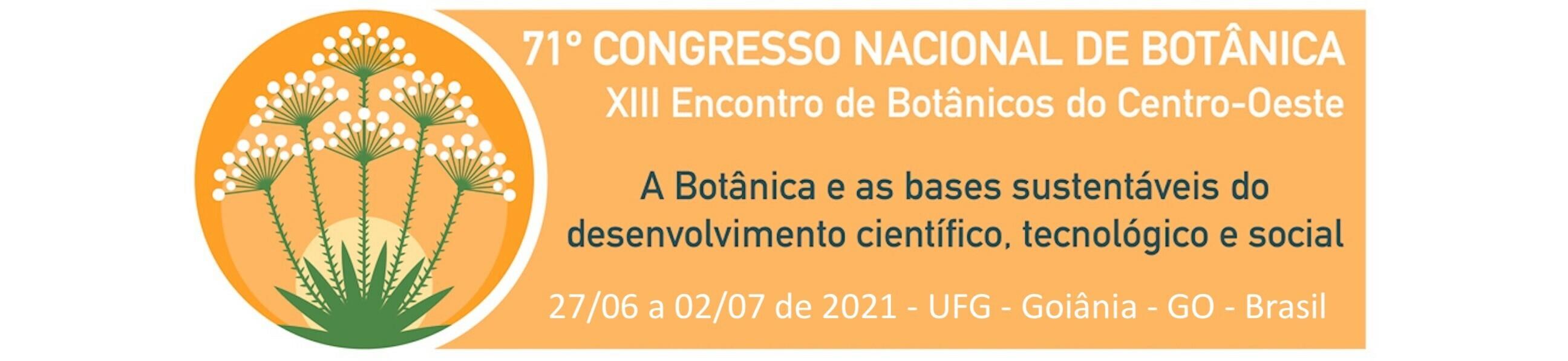 Banner - Congresso Nacional de Botânica 2021