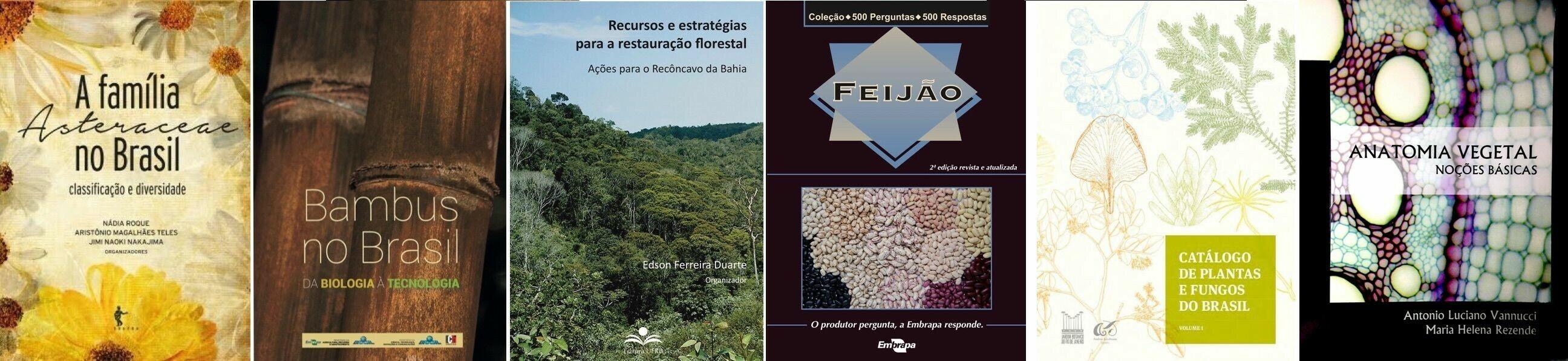 Livros Publicados com a participação de professores do DBOT/ICB/UFG