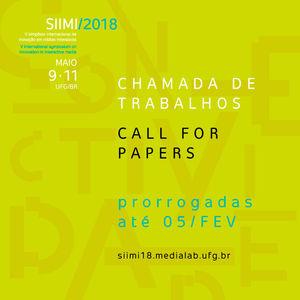 SIIMI18 Prorrogação