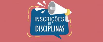 Inscrição em disciplinas