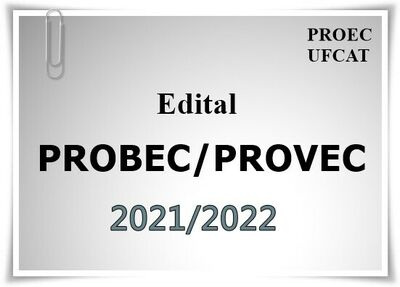 edital probec-provec 2021-2022