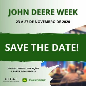 save the date john deere week