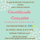 Cartaz da Ciranda do Ser dia 25/09/2021.