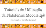 Capa da notícia dos tutoriais de utilização do Moodle Ipê.