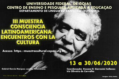 III_MUESTRA CONSCIENCIA LATINOAMERICANA ENCUENTROS CON LA CULTURA. 13 A 30/06/2020