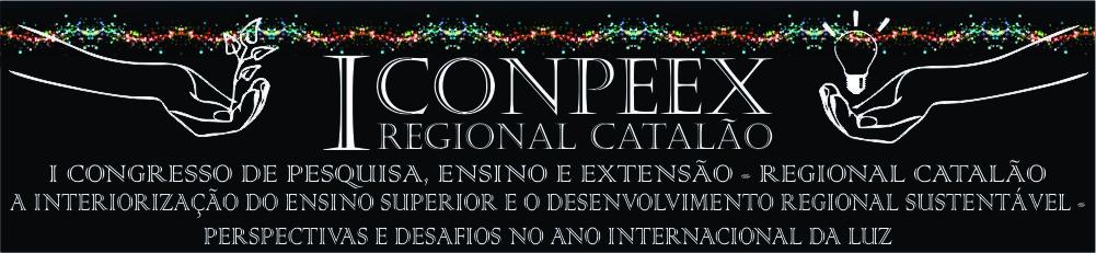I CONPEEX - Regional Catalão