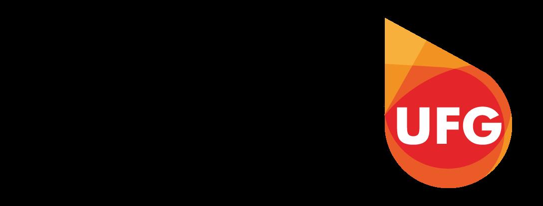 """Logotipo Visibilidade UFG  """"Aqui seu conhecimento é visto"""" para banner da página do Visibilidade"""