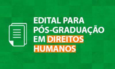 Edital Direitos Humanos