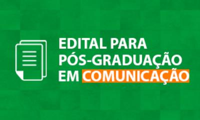 Edital Comunicação