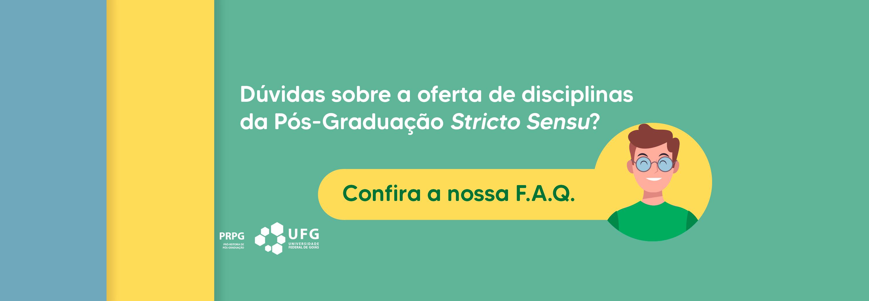 Banner sobre o FAQ