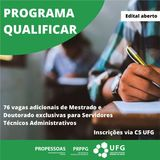 propessoas edital qualificar 19 ufg