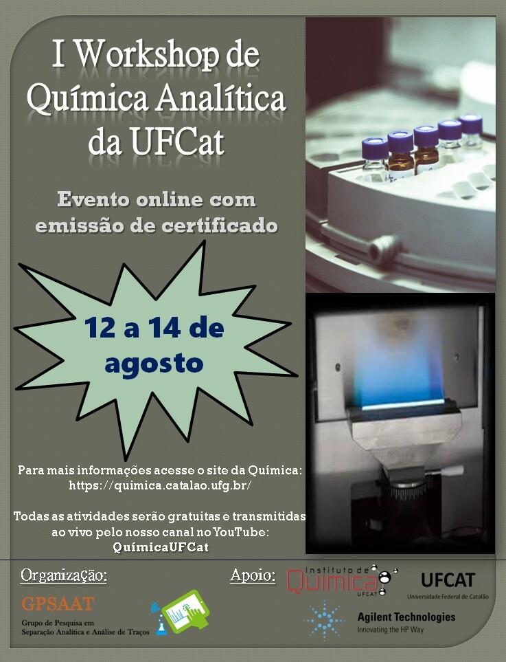 I Workshop de Química Analítica da UFCat