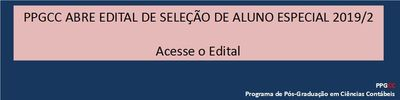 Edital Aluno Especial 2019_2