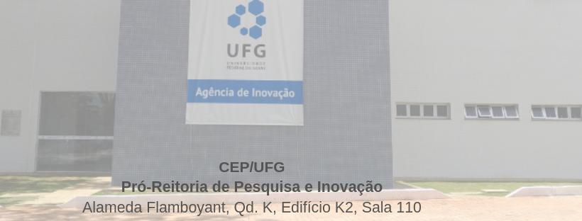Endereço CEP/UFG