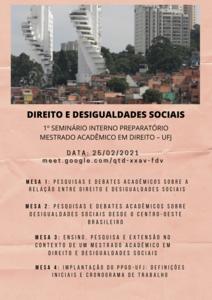 1º Seminário - Direito e desigualdades