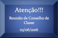Conselho de Classe 2016-1