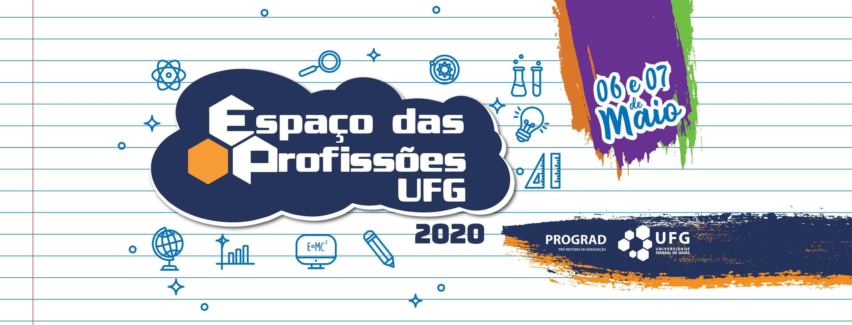 Banner espaço das profissões 2020
