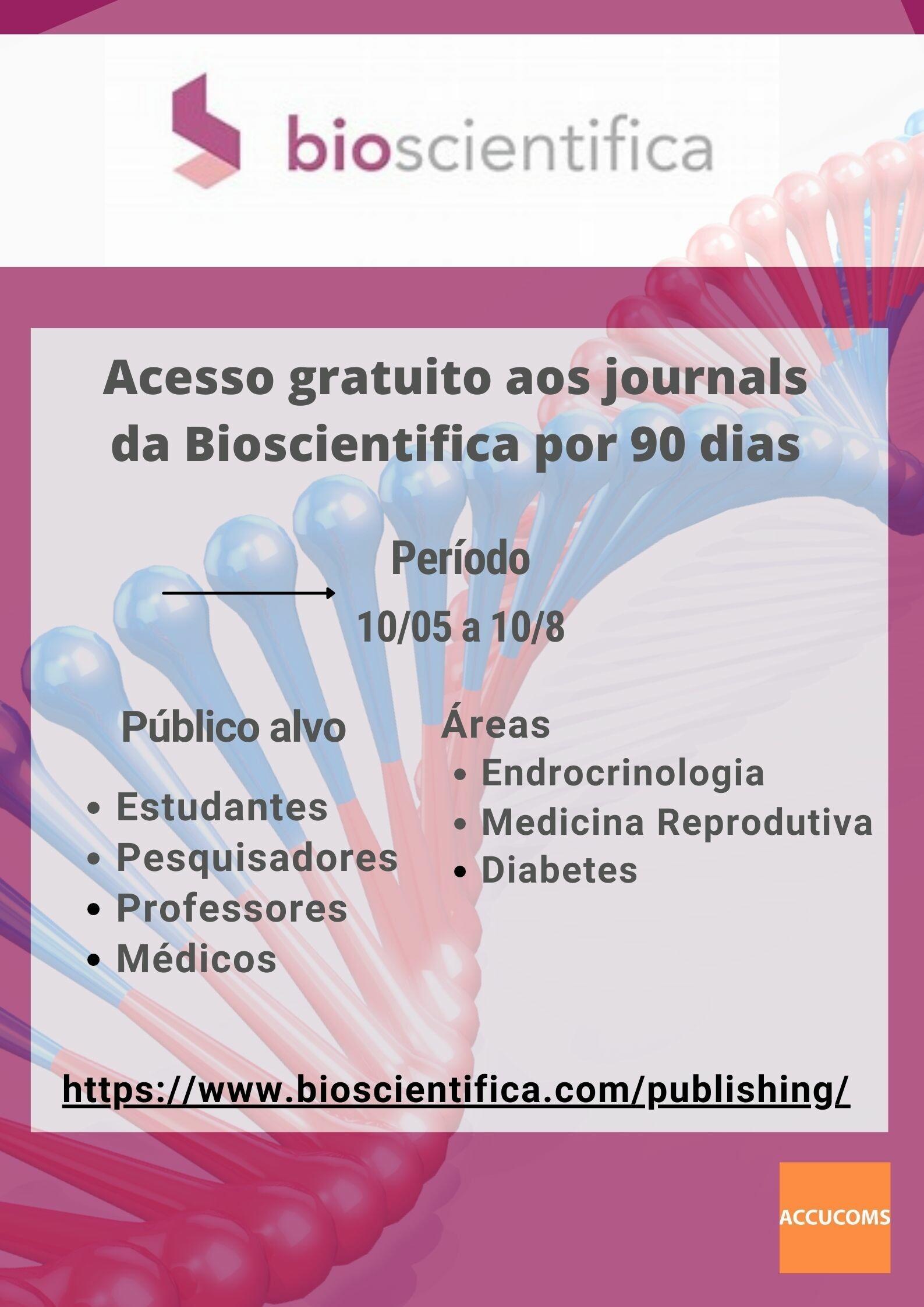 Cartaz bioscientifica