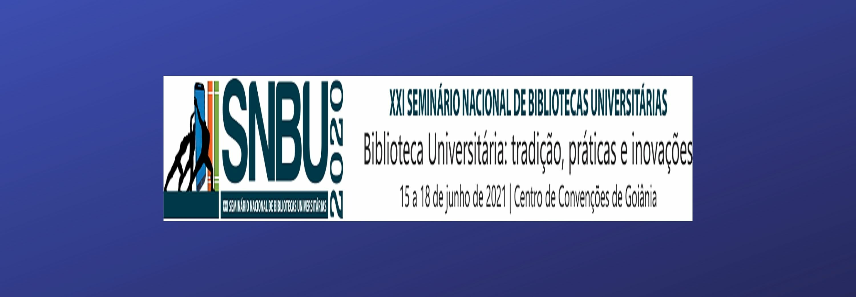 Banner nova data SNBU 15 a 18 de junho 2021