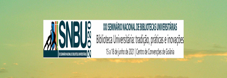 Novo banner SNBU