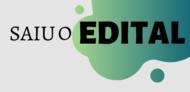 SAIU O EDITAL CAPA 2020