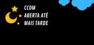 Horário Estendido CCOM - Capa