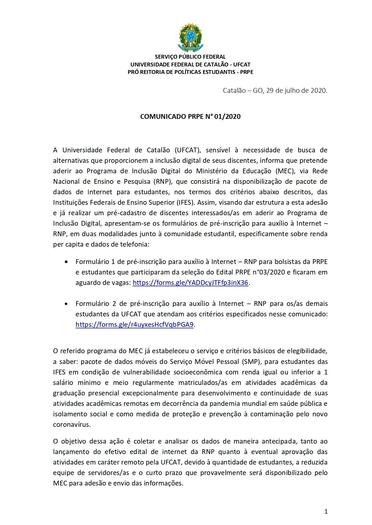 Comunicado pagina 2