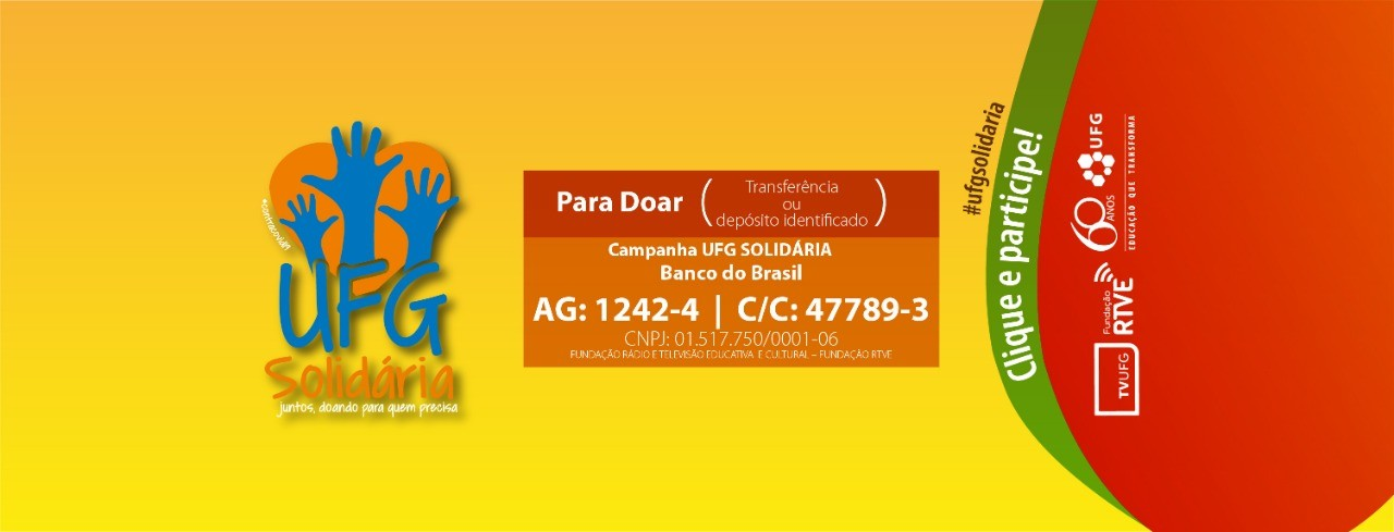 Banner UFG Solidária