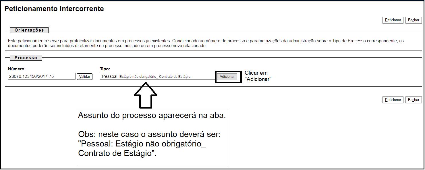 Processo intercorrente - 2ª maneira 17