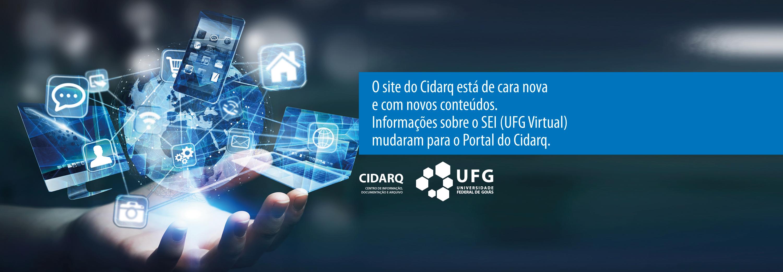 Novo site do CIDARQ