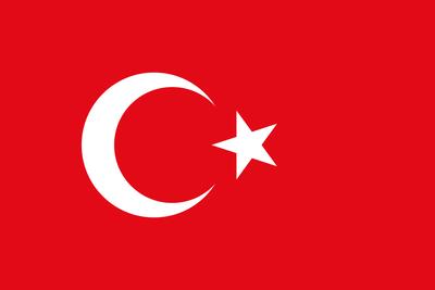 Bandeira Turquia