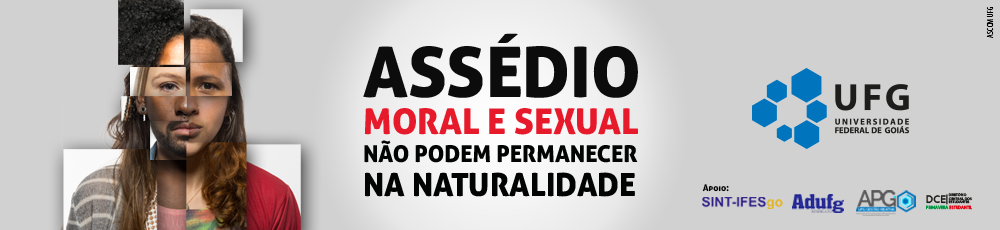 Contra o assédio moral e sexual.