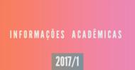 Informações Acadêmicas 2017/1