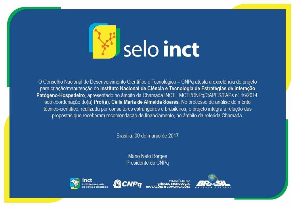 SELO INCT