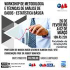 Workshop de Metodologia e Técnicas de Análise de Dados - capa